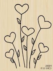 Flower Hearts - 269H