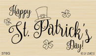 Top Hat St. Patrick's Day Greeting - 378G