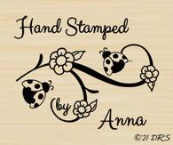 Custom Ladybug Hand Stamped by - 63025