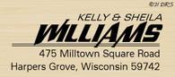 Millhouse Custom Address Stamp