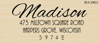 Plaza Custom Address Stamp - 62021
