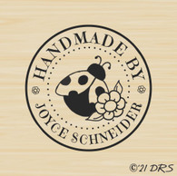 Ladybug Circle Custom Handmade by - 63026