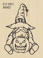 Witch Gnome - 664D