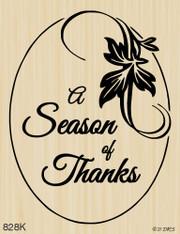 Season of Thanks Oval - 828K