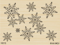 Interlocking Snow Background - 015H