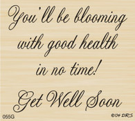 Blooming with Good Health Greeting - 055G