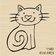 Happy Cat Sitting - 116D