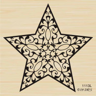 Large Filigree Star - 1113L