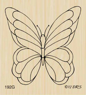 Large Single Butterfly - 192G