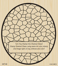 Oval Stained Glass - 199P