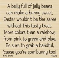 Full Belly Easter Greeting - 230H