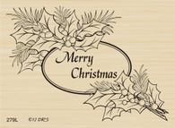 Christmas Pine Oval - 279L