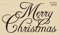 Large Script Merry Christmas - 286K