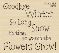Goodbye Winter Greeting - 384G