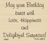 Delightful Surprises Birthday Greeting - 409G
