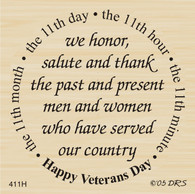 Veteran's Day Greeting - 411H