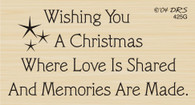 Memories are Made Christmas Greeting - 425G
