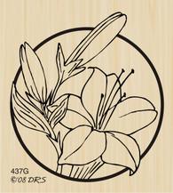 Circle Lily - 437G