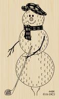 Golf Ball Snowman - 448K