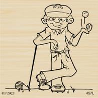 Golfer Duff - 457L