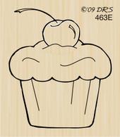 Cherry Top Cupcake - 463E