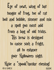 Witches' Brew Halloween Greeting - 522K