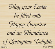 Abundance of Spring Greeting - 527G