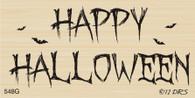 Batty Happy Halloween - 548G