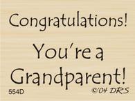 Grandparent Congratulations - 554D