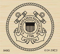 Coast Guard Seal - 949G