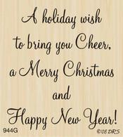 Holiday Wish to Bring Cheer Greeting - 944G
