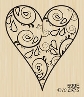 Filigree Heart - 599E