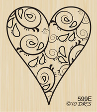Filigree Heart - 599E