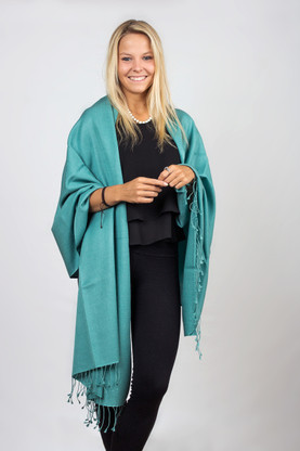 The Pashmina is arguably the trendiest fashion fabric of this modern era; its elegance is comparable to no other fiber.