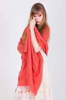 The superb look and feel of this Pashmina will make you feel sensuous and stylish at the same time.