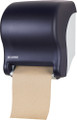 San Jamar Tear-N-Dry Eco Roll Towel Dispenser (Black)