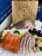 Family seafood pack with snapper