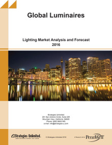 Global Luminaires: Lighting Market Analysis and Forecast 2016