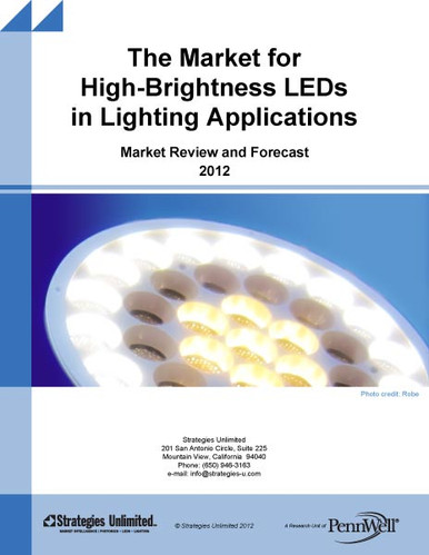 The Market For High Brightness Leds In Lighting