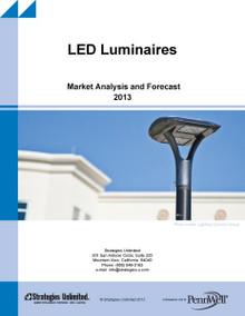 LED Luminaires: Market Analysis and Forecast 2013