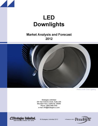 Led Downlights Market Analysis And Forecast 2012