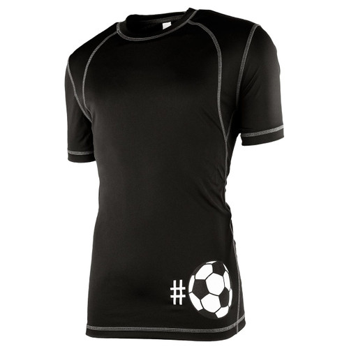 Men's Hashtag Soccer Performance Shirt (Front)