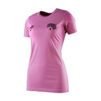The18's Women's Ì´Ì_Soccer StepsÌ´Ì_Ì´å T-Shirt in Pink.