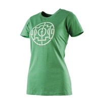 The18's Women's Celtic Field T-Shirt in Green.