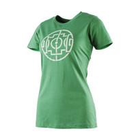 The18's Women's Celtic Field T-Shirt in Green.