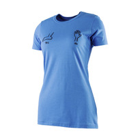 The18's Women's How It's DoneÌ´Ì_Ì´å T-Shirt in Blue.