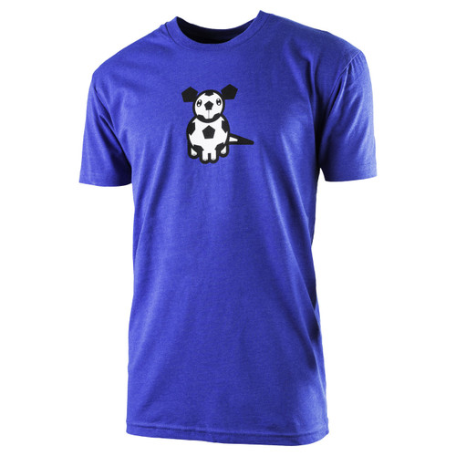 The18 Men's Soccer Dog T-Shirt (Front)