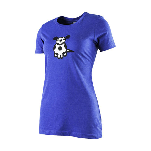 The18 Women's Soccer Dog T-Shirt (Front)
