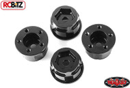 "1.9"" 2.2"" 5 lug Stamped Steel Wheel 12mm Hex Hub + 9 mm Offset RC4WD Z-S1278"