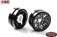 Black 1.9 Universal Beadlock Wheel D1 Z-W0177 RC4WD Moduler BUILD YOUR WAY